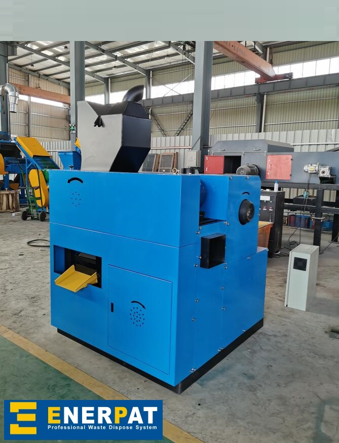 Enerpat - Wire Granulator WG-80, Copper Cable Recycling Machine